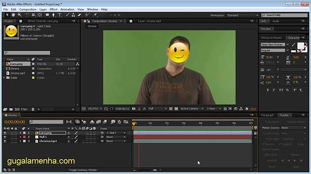 After Effects CS5 – Tutorial Track Motion pt-BR (HD)